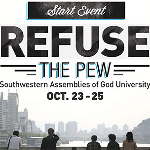 SAGU hosts church planting seminar 'Refuse the Pew'