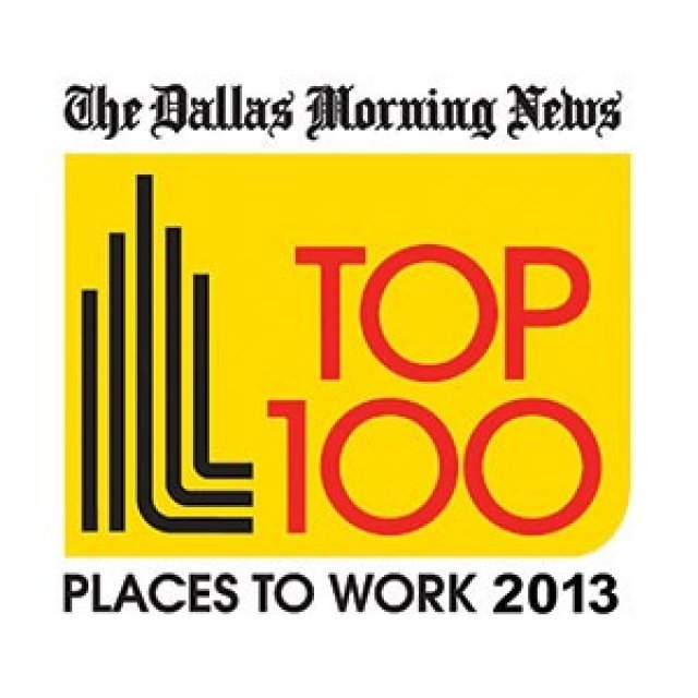 SAGU ranks 7th in mid-sized companies in Dallas Morning News' 2013 Top 100 Places to Work