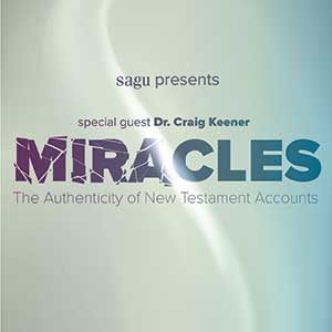 "Bible scholar speaks at SAGU's ""Miracles"" seminar"