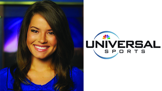 SAGU Alumna Hired as Associate Producer and Host For Universal Sports Network