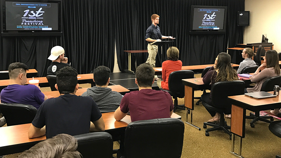 SAGU Hosts First Preaching Festival for Students