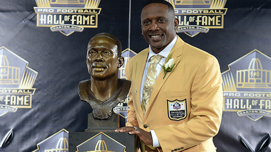 Tim Brown inducted into the NFL Hall of Fame