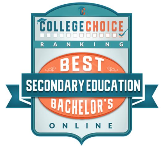 Best online bachelor's Secondary Education