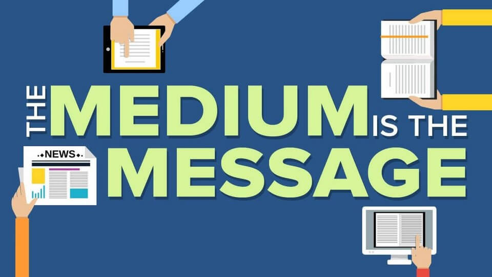 "Rob Price explores how Marshal McLuhan's communication theory ""the medium is the message"" applies to the Gospel message."