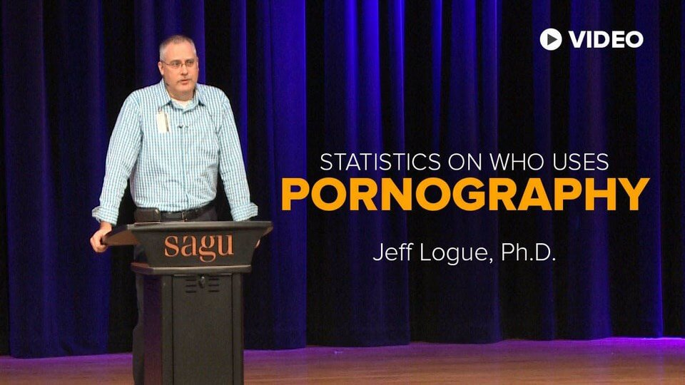 Jeff Logue, Ph.D. presents statistics on those who use pornography, or have a porn addiction. He also shows how it  effects relationships for men and women.