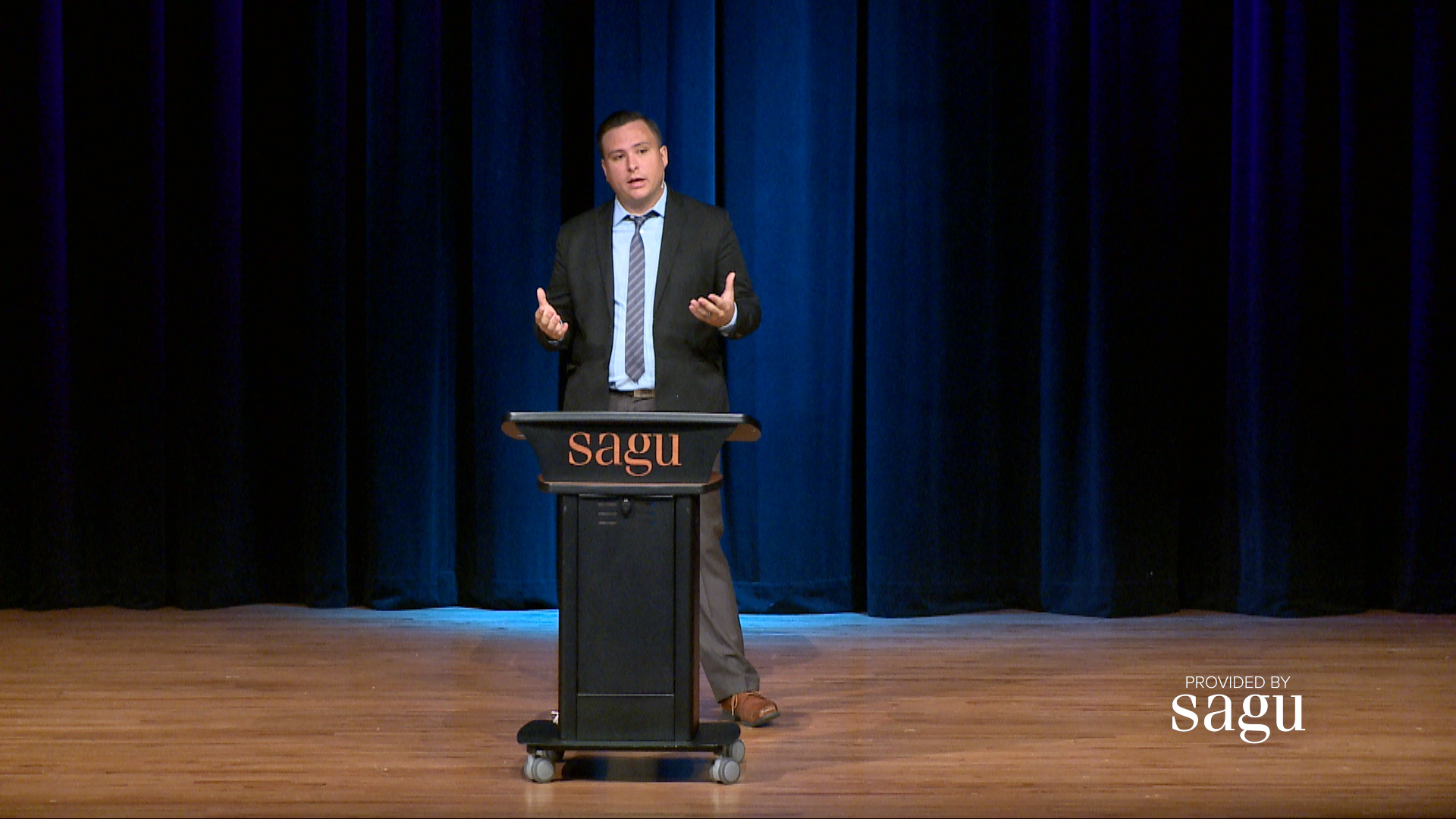 Brian Stachowski presents a lecture on the world that Abraham ventured through, Canaan.