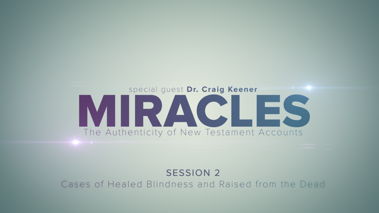 In this session, Craig Keener shares stories of people who experienced miraculous healing.