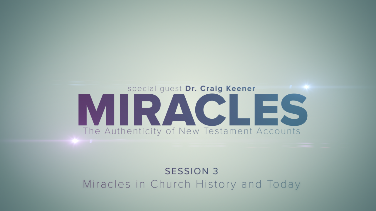 In this session, Craig Keener discusses miracles that occurred in church history as well as today.